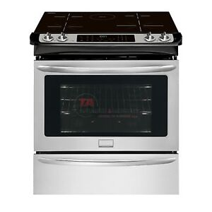 Frigidaire Gallery Range Slide-In Electric Smudge Proof
