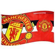 Manchester united flag ebay man utd flag voltagebd Image collections