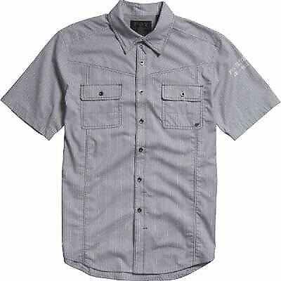 Fox Racing Men's Night Grooves Short Sleeve Button Up Shirt
