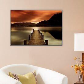 Ullswater canvas photo - by Mel Allen