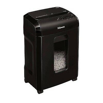 Fellowes Microcut Shredder With Wastebasket 10 Sheet Capacity - Black