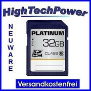 SD Karte 32GB Class 6