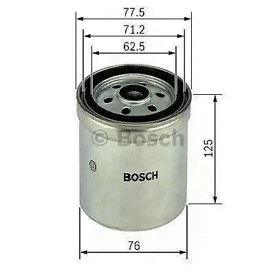 Fuel filter BOSCH 1 457 434 432 segunda mano  Embacar hacia Argentina