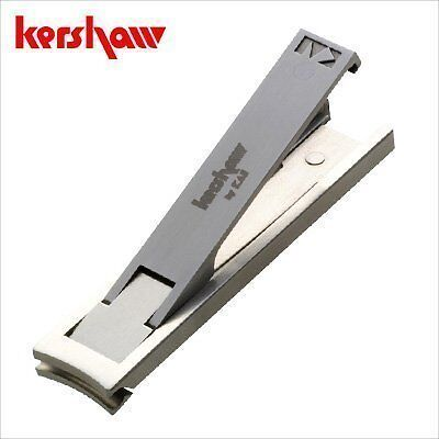 Kershaw Nail nipper clipper clippers scissors thin light folding Leaf Kai Japan