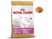 Royal Canin westie adult food for sale 3kg Bag