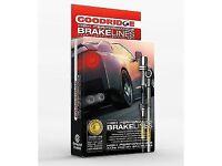 Honda High performane Goodridge break lines SHD1001