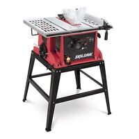 """10"""" table saw by skill saw comes with stand"""