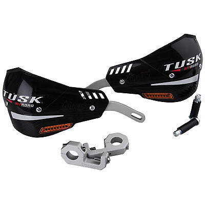 Tusk D Flex Pro Handguards W Turn Signals Black 7 8  Bars Enduro Dual Sport