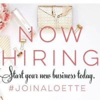 Aloette is hiring! $25/hour to start!!!!!