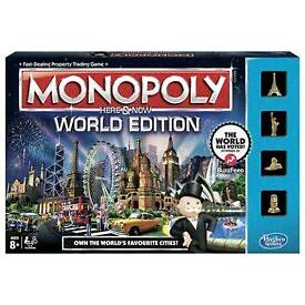 """Monopoly """"Here& Now"""" World Edition"""