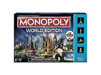 "Monopoly ""Here& Now"" World Edition"