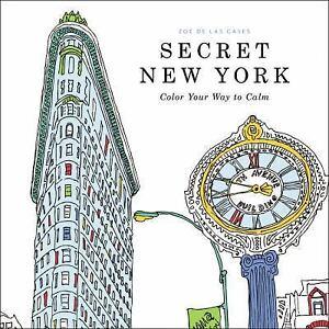 secret york adult coloring book color your calm