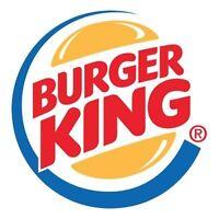 Burger King Ropewalk Lane General Manager