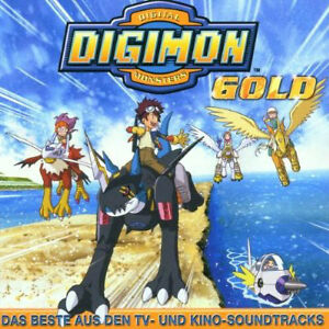 DIGIMON GOLD SOUNDTRACK (OPEN BUT NEVER PLAYED)