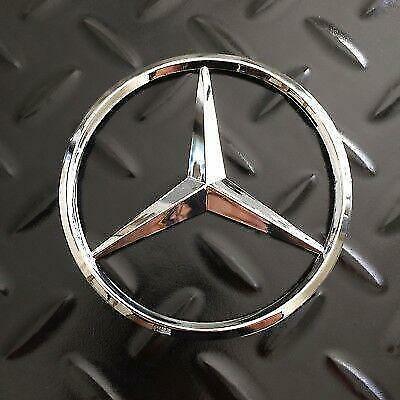 Mercedes-Benz W166 ML GLE Heckklappe Badge Star - Schwarz glänzend A1668170016