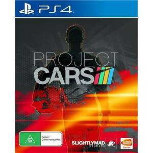 PS4 GAME Project CARS good condition PAL AU Kingsford Eastern Suburbs Preview