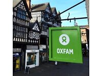 Are you interested in volunteering with Oxfam in Chester?