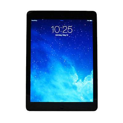 Apple iPad Air 1 16GB - 128GB, Wi-Fi/ Cellular, 9.7i - gray / black READ LISTING