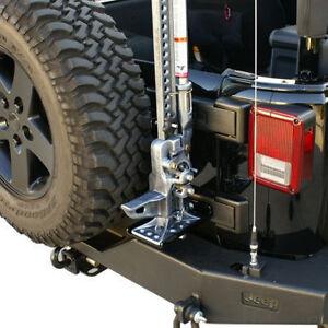 hi lift jack mount kit w lock 2007 2014 jeep wrangler jk. Black Bedroom Furniture Sets. Home Design Ideas