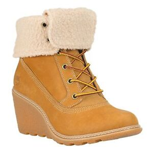 Timberland Wedge Ankle Boots