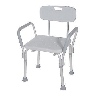 shower chair with arms: bathroom safety | ebay