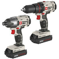 PORTER-CABLE 20-Volt Li-Ion Compact Drill and Impact Driver Cord