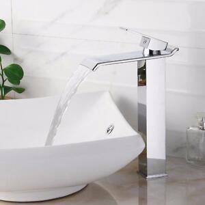 Single Handle Bathroom Waterfall Faucet by Elite NEW