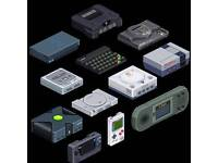 Retro games and consoles looking for