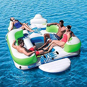 Inflatable party island/ Drifting Island