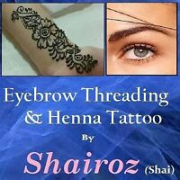 Shai Eyebrow Threading/tinting/henna Tattoo.Lacewood Dr halifax