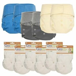 GroVia Part Time Package - The Perfect Cloth Diaper starter kit! Kitchener / Waterloo Kitchener Area image 2