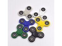 £1 - Wholesale Tri Fidget Spinner UK Finger Kids Toy All Colour