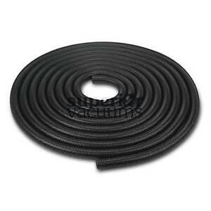 "Air Hose 50' X 1 1/2"" Black Crushproof Commercial Single Wall"