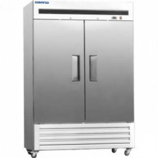 GRAND 1400 Litre Two Door Stainless Steel Upright FREEZER