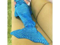 Mermaid fishtail blanket BRAND NEW