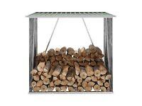 Firewood Storage Shed Log Shelter