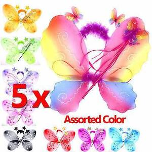 Fairy Princess Elegant Girl Costume Wings Wand Butterfly Knoxfield Knox Area Preview