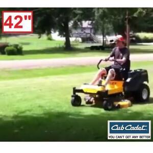 "NEW CUB CADET 42"" ZERO TURN MOWER - 132337138 - 23 HP KOHLER V TWIN DUAL HYDRO MOWERS RIDE ON RIDING GRASS CUTTER LAN..."