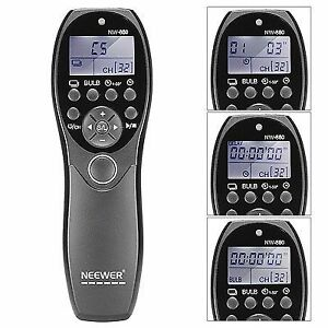 Neewer N3 LCD display shutter release timer remote control