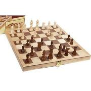 Vintage Wood Chess Set