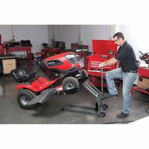 New Quality 300 lb. 136KG ATV / Ride on Lawn Mower Hydraulic Lift
