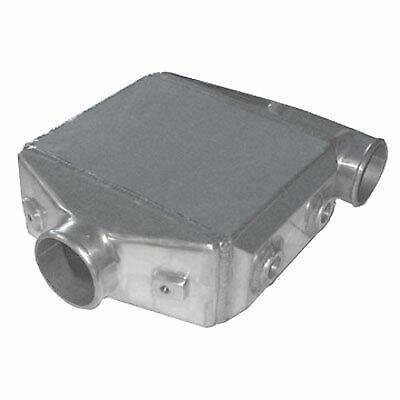 """Universal Liquid To Air Intercooler 16.25""""x12.25""""x4.5"""", 3.5"""" 90 Deg Inlet/outlet"""