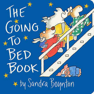 The Going to Bed Book, Sandra Boynton