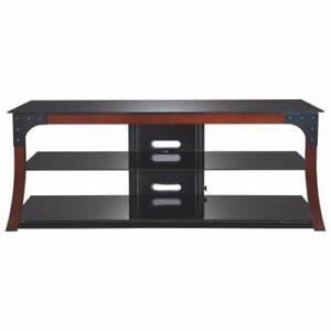 """Insignia NS-MG2156-C Contemporary Rustic TV Stand for TVs Up To 60"""" (Open Box)"""
