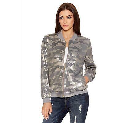 Quiz bomber jacket size 12