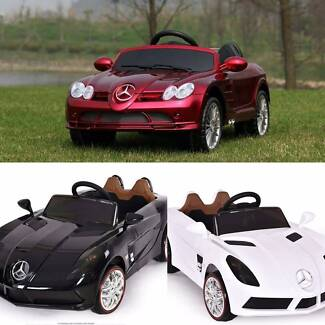 MERCEDES BENZ SLR-ELECTRIC RIDE ON TOYS/CARS FOR TODDLERS