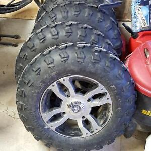 Polaris tires and rims