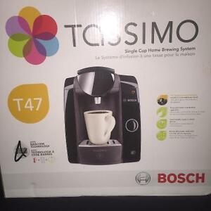 NEW TASSIMO T47 SINGLE CUP HOME BREWING SYSTEM
