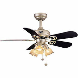 Modern Ceiling Fan in Perfect Condition.