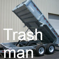 Residential Trash Removal.call or text # 587-988-0951